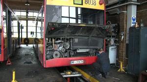 Kierowcy MZA: brakuje ludzi[br] i sprzętu do napraw autobusów