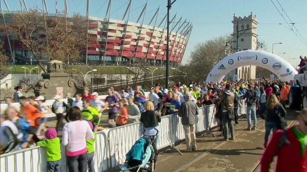 Zmiany w organizacji 37. Maratonu Warszawskiego  archiuwm TVN