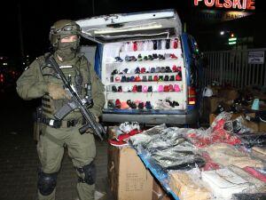 Wólka Kosowska: służby zabezpieczyły podróbki warte 10 milionów złotych