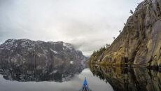 Fiord Lysefjorden w południowo-zachodniej Norwegii