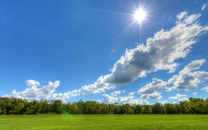Prognoza pogody na dziś: bez kropli deszczu