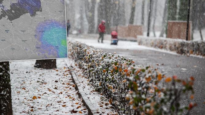 Śnieżny koniec tygodnia, <br />pogodny początek następnego
