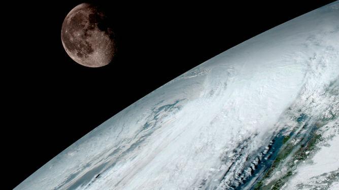 Zdjęcie Ziemi z satelity GOES-16