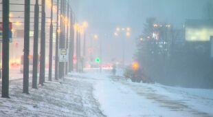 Zima zaatakowała, kierowcy mają kłopoty