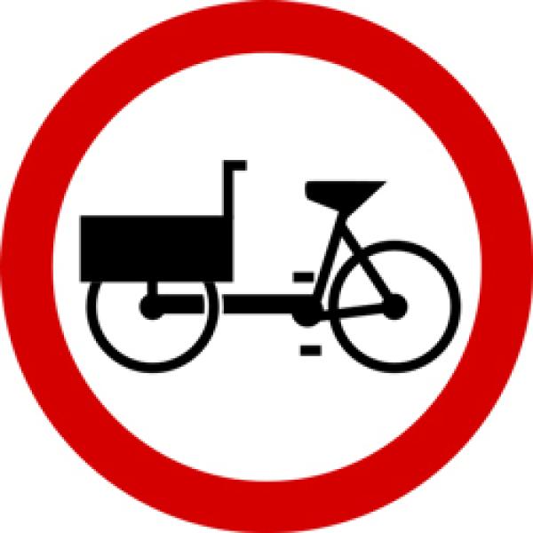 """Znak B-11 (""""zakaz wjazdu wózków rowerowych"""") nie będzie zabraniać wjazdu rowerów wielośladowych"""