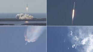 Katastrofa rakiety Falcon 9. Eksplodowała 2 minuty po starcie