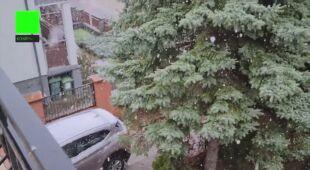 Śnieg we Władysławowie