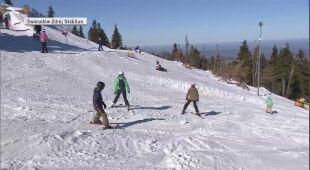 Paweł Lech o nauce jazdy na nartach